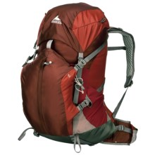 Gregory Z55 Backpack - Internal Frame in Ember Orange - Closeouts
