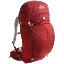 Gregory Z55 Backpack - Internal Frame in Spark Red - Closeouts