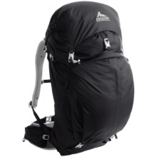 Gregory Z55 Backpack - Internal Frame in Storm Black - Closeouts