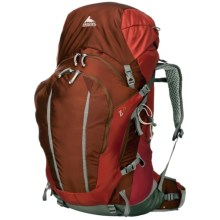 Gregory Z75 Backpack - Internal Frame in Ember Orange - Closeouts