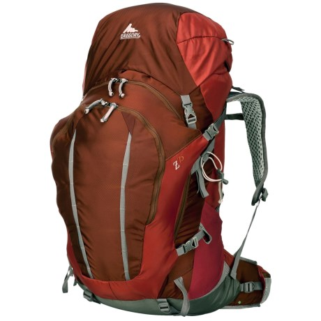 Gregory Z75 Backpack - Internal Frame in Ember Orange
