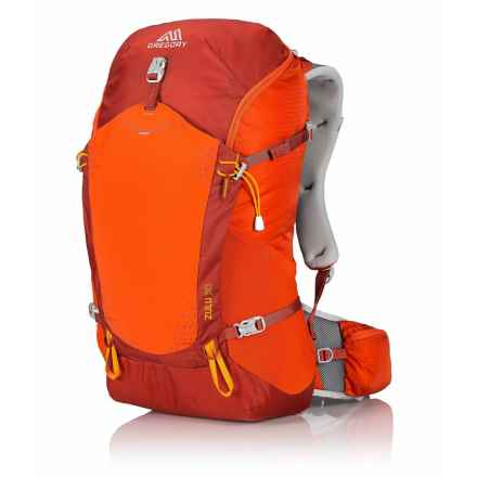 Gregory Zulu 30L Backpack in Burnished Orange - Closeouts