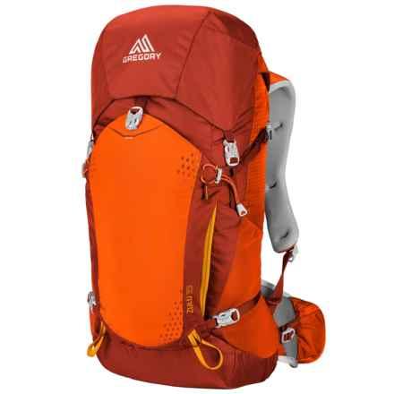 Gregory Zulu 35L Backpack - Internal Frame in Burnish Orange - Closeouts