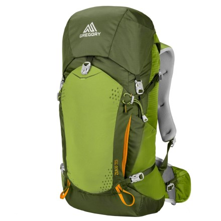 Gregory Zulu 35L Backpack - Internal Frame in Moss Green - Closeouts 3ee867c357f3a