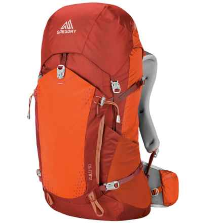 Gregory Zulu 40L Backpack - Internal Frame in Burnished Orange - Closeouts