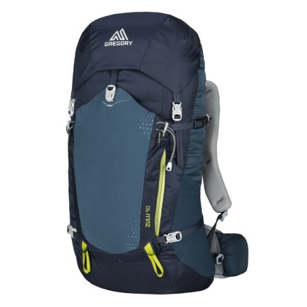 58948c14a3 Gregory Zulu 40L Backpack - Internal Frame in Navy Blue - Closeouts