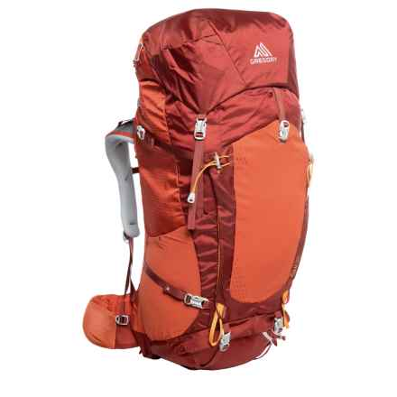 Gregory Zulu 55 Backpack - Internal Frame in Burnish Orange - Closeouts