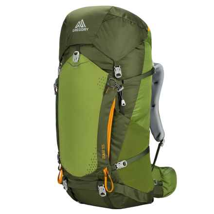 Gregory Zulu 55 Backpack - Internal Frame in Moss Green - Closeouts