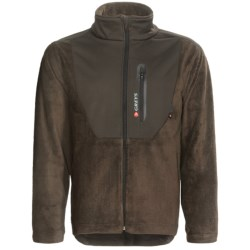 Greys Strata Jacket - Windproof Fleece (For Men) in Sage
