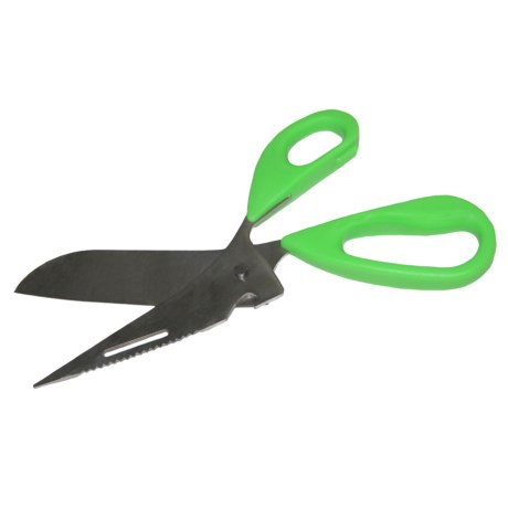 Grip-On Tools 3-in-1 Game Shears - Stainless Steel in Green