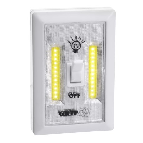 Grip-On Tools COB LED Light Switch - 200 Lumens in See Photo
