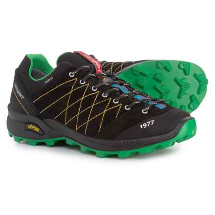 Grisport Made in Italy Alpine Hiking Shoes - Waterproof (For Men) in Black/Green - Closeouts
