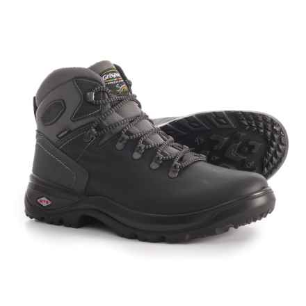 Grisport Made in Italy Belluno Hiking Boots - Leather (For Men) in Black - Closeouts
