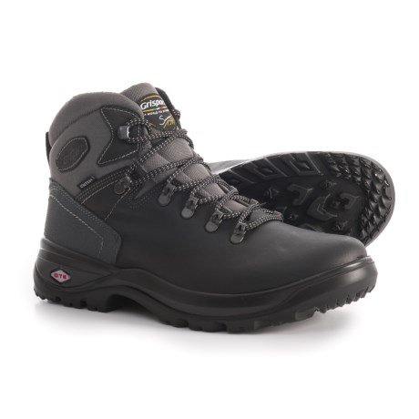 Grisport Made in Italy Belluno Hiking Boots - Leather (For Men) in Black