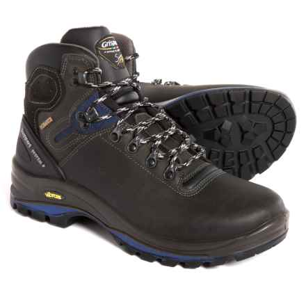 Grisport Made in Italy Cortina Hiking Boots - Waterproof, Leather (For Men) in Gray/Blue - Closeouts