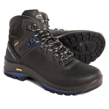 Grisport Made in Italy Cortina Hiking Boots - Waterproof, Leather (For Men) in Gray/Blue