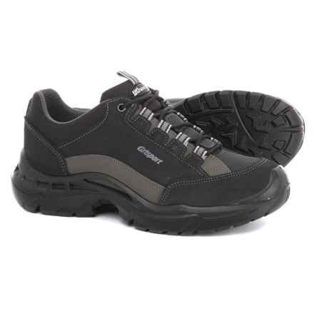 Grisport Made in Italy High Plains Hiking Shoes - Suede (For Men) in Black/Grey - Closeouts