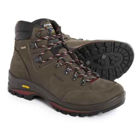 Grisport Made in Italy Montello Hiking Boots - Waterproof, Leather  (For Men) in Grey - Closeouts