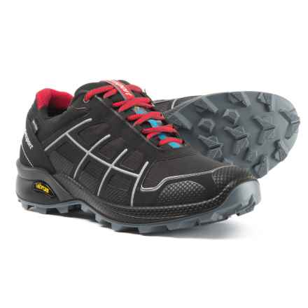 Grisport Made in Italy Quick Trail Running Shoes - Waterproof (For Men) in Black - Closeouts