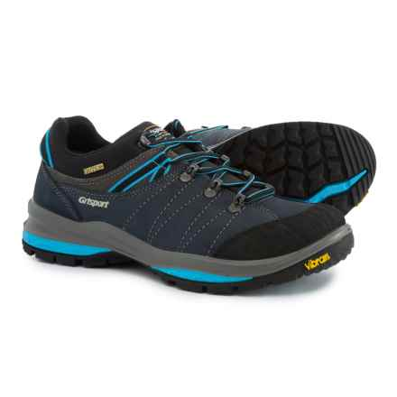 Grisport Made in Italy Trek Hiking Shoes - Leather (For Men) in Grey/Blue - Closeouts