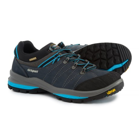 Grisport Made in Italy Trek Hiking Shoes - Leather (For Men) in Grey/Blue