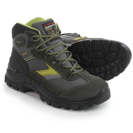 Grisport Nassfeld Hiking Boots - Waterproof (For Men) in Gray - Closeouts