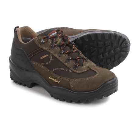 Grisport Valtina Hiking Shoes - Waterproof (For Men) in Brown - Closeouts