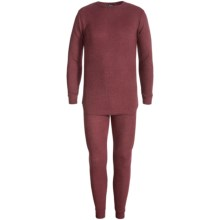 Grit Iron Thermal Underwear Set - 2-Piece (For Big Men) in Burgundy - Closeouts