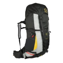 Grivel Freney 50+10 Backpack in Black/Silver/Yellow - Closeouts