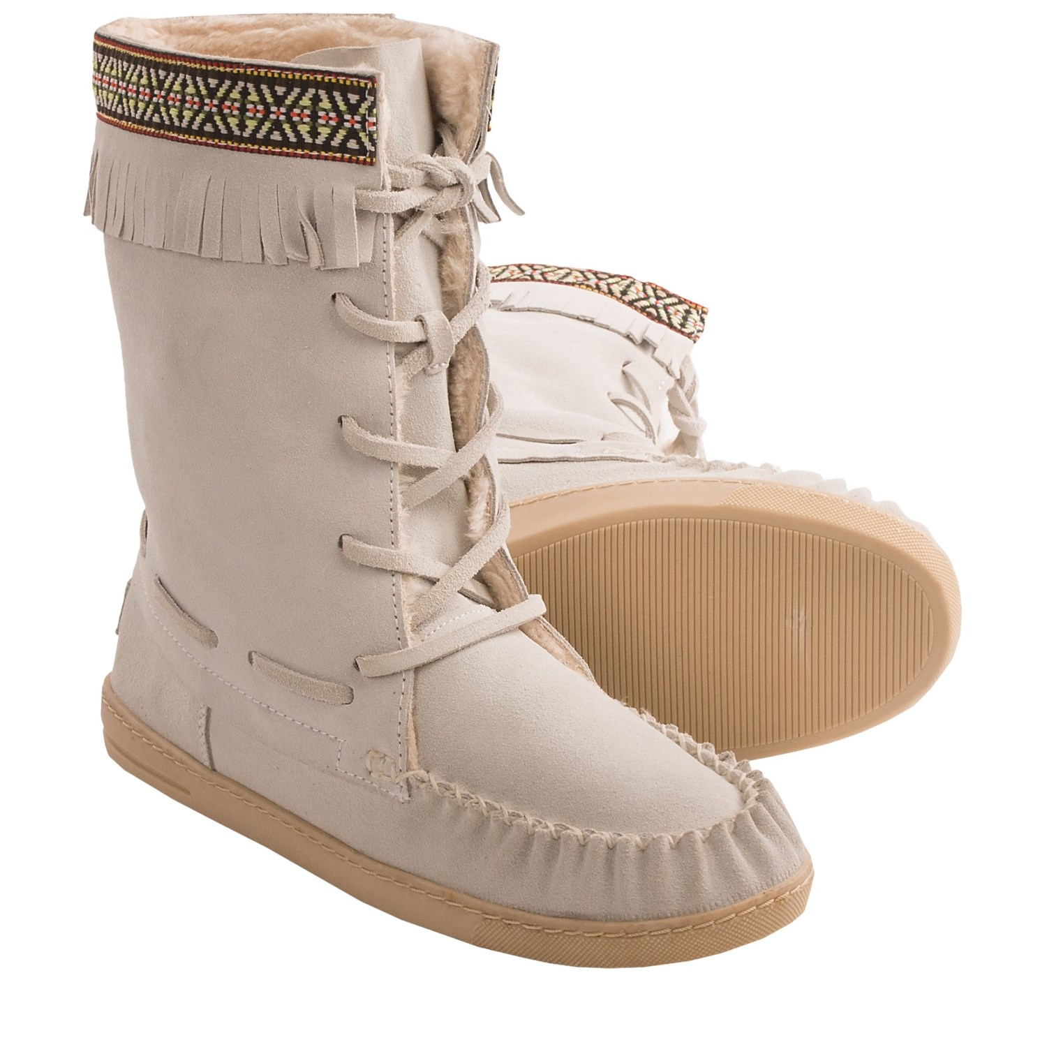 grizzleez by zigi cer moccasin boots for save 77
