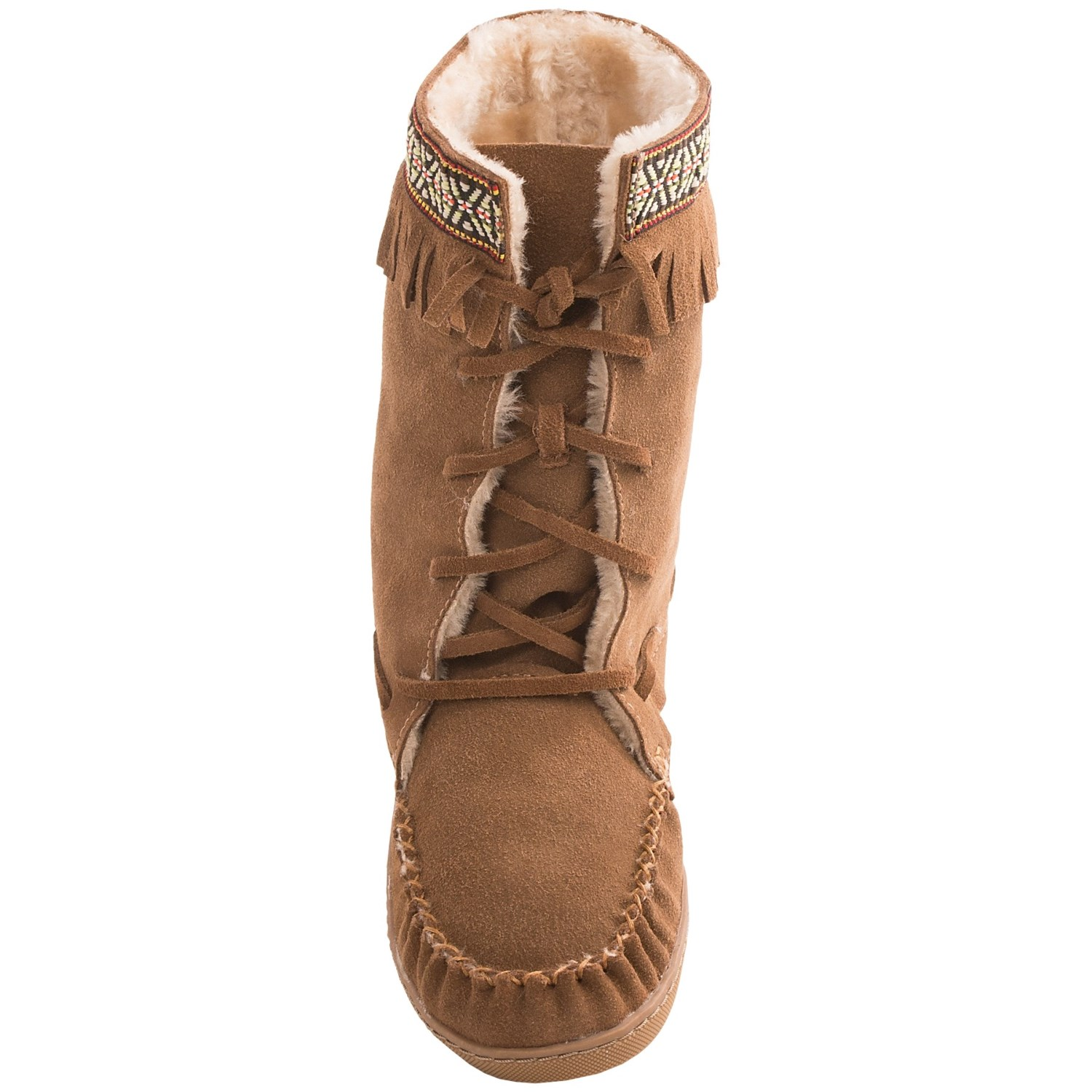 Grizzleez By Zigi Camper Moccasin Boots For Women 7959k