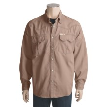 Grizzly Bowen Shirt - Long Sleeve, Quick-Dry Nylon (For Men) in Khaki - Closeouts