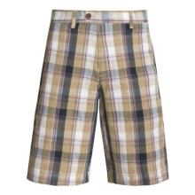 Grizzly Brent Shorts - Reversible (For Men) in Khaki - Closeouts