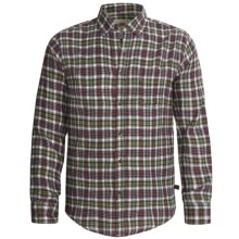 Grizzly Clark Plaid Shirt - Flannel, Long Sleeve (For Men) in Holly - Closeouts
