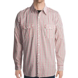 Grizzly Ethan Shirt - Long Roll-Up Sleeve (For Men) in Apple