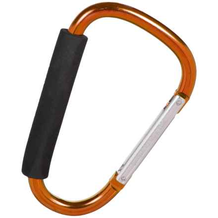 Grizzly Grip Jump 20cm Utility Carabiner in Orange - Closeouts