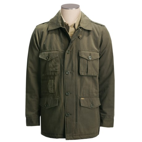 Grizzly Hudson Bedford M-65 Jacket - Cotton Canvas (For Men) in Military