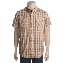 Grizzly Jake Sport Shirt - Short Sleeve (For Men) in Cherry - Closeouts