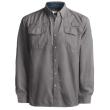 Grizzly Kenyon Quick-Dry Shirt - Long Sleeve (For Men) in Dolphin - Closeouts
