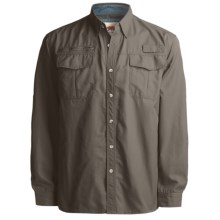 Grizzly Kenyon Quick-Dry Shirt - Long Sleeve (For Men) in Iguana - Closeouts