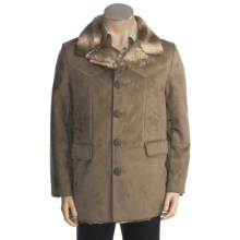 Grizzly Parker Coat - Ultrasuede, Faux-Fur Interior (For Men) in Mocha - Closeouts