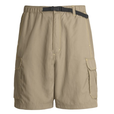 Grizzly Roark Quick-Dry Shorts - Sanded Nylon (For Men) in Shark
