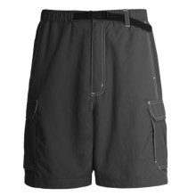 Grizzly Roark Quick-Dry Shorts - Sanded Nylon (For Men) in Tar - Closeouts
