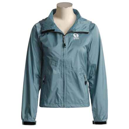 Ground Nano Jacket - Waterproof Hard Shell (For Women) in Cyclone - Overstock