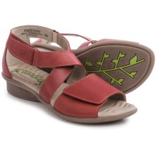 Groundhog Freetime Leather Sandals (For Women) in Rubino - Closeouts