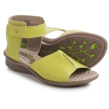 Groundhog Ribba Ankle Strap Sandals (For Women) in Pistachio - Closeouts