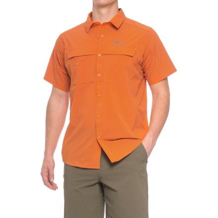 be5eb4276a6 Grundens Hooksetter Shirt - UPF 30, Short Sleeve (For Men and Big Men)