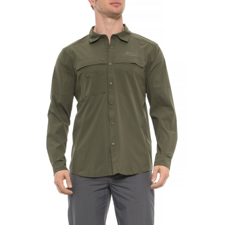 87f4ee195149 Grundens Hooksetter Shirt - UPF 30, Snap Front, Long Sleeve (For Men and.  Tap to expand