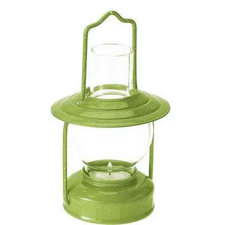 GSI Candle Lantern in Green - Closeouts