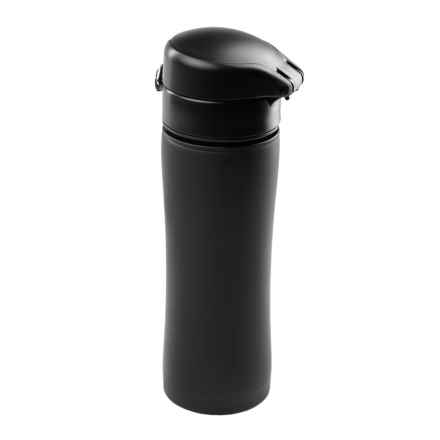 GSI Glacier Kaze Insulated Travel Mug - 13.5 fl.oz., Stainless Steel in Black - Closeouts